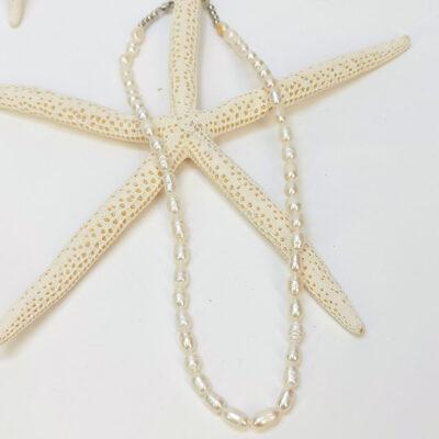Γυναικείο Κολιέ με μαργαριτάρια 7mm – Aphrodite